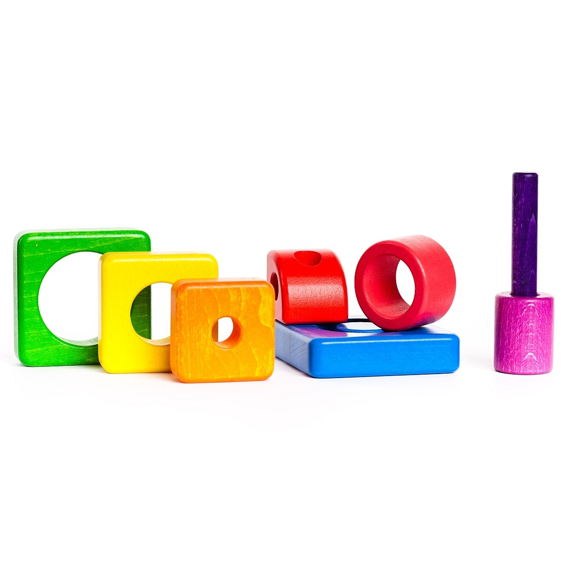 Stacking Toy Puzzles : Bajo puzzle stacker tower