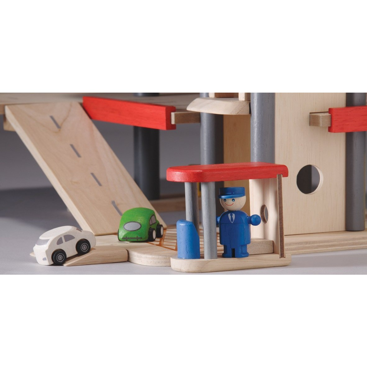 Wooden Toy Plans Catalog : Plan toys parking garage