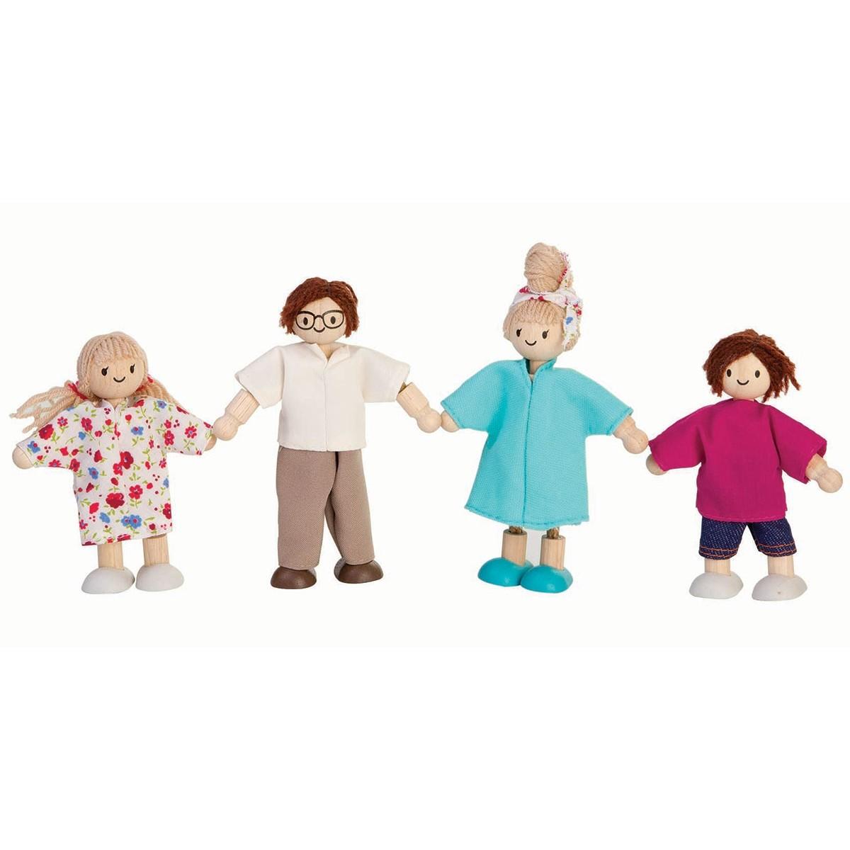 Plan Toys Modern Doll Family 7142