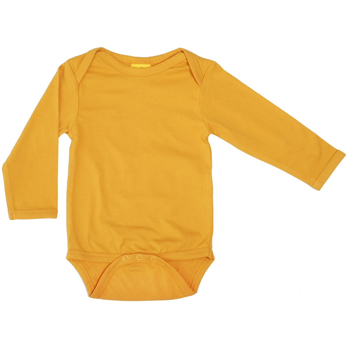 Duns Mustard Ls Body Baby Vests Bodies Organic Baby Clothes