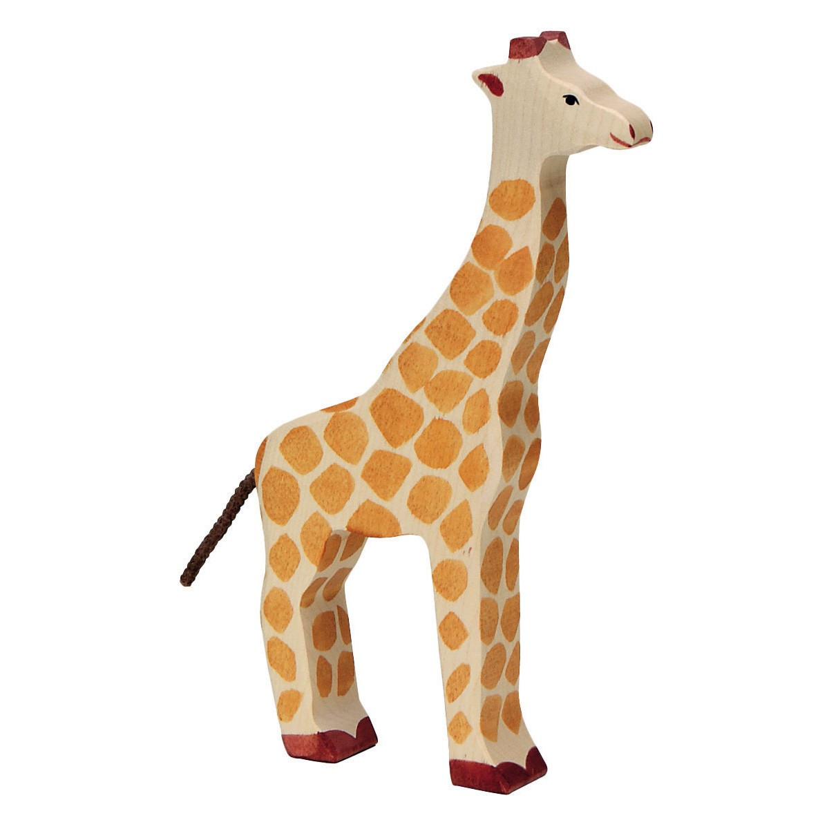 Animals & Dinosaurs Holztiger Giraffe Wooden Figure Toys & Hobbies