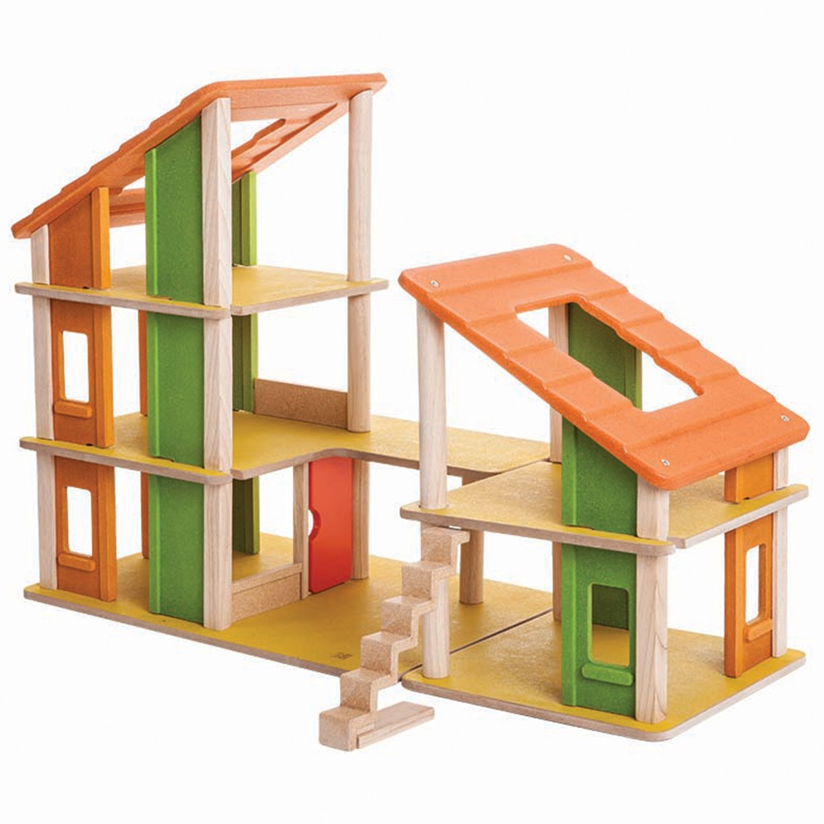 Wooden Toy Plans Catalog : Plan toys chalet dolls house