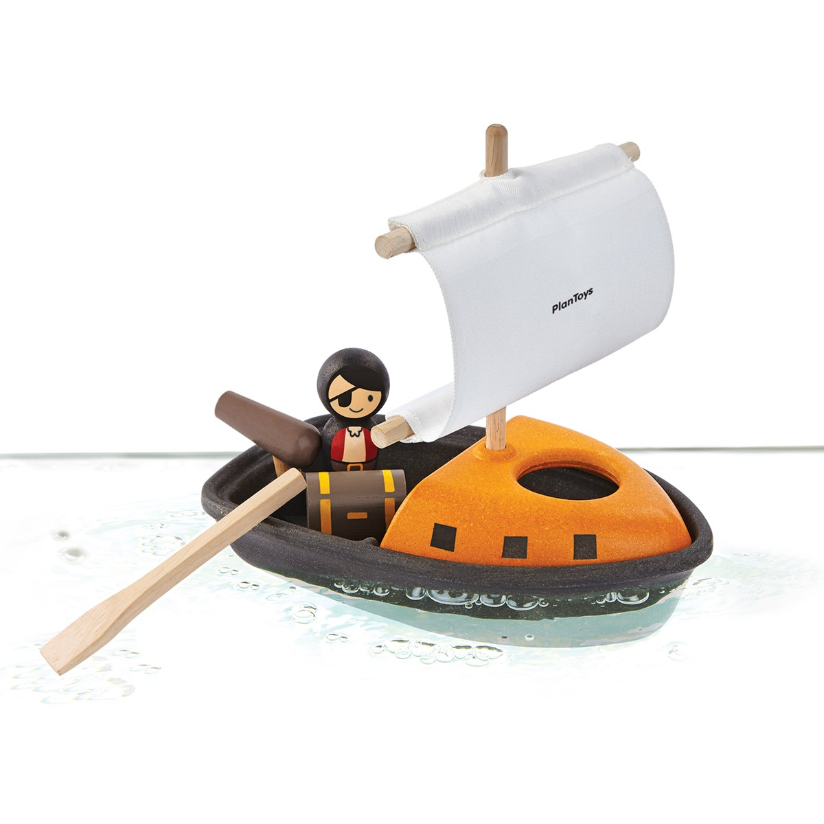 Plan Toys Pirate Boat Bath Toy