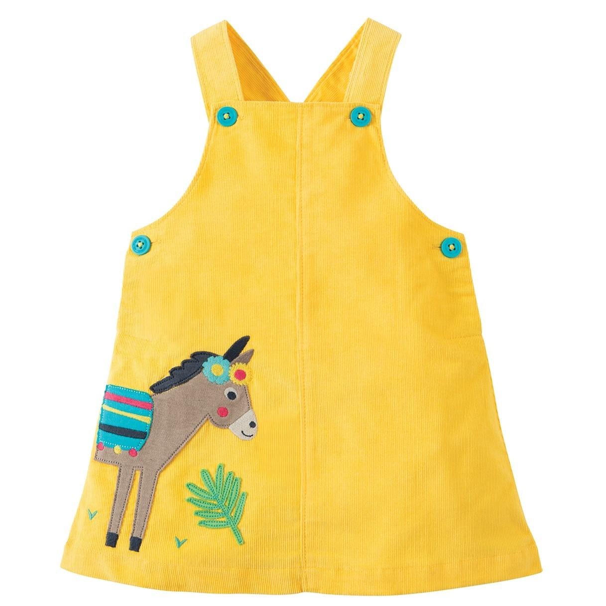 4809e3bea Frugi Donkey Tilly Cord Pinafore Dress
