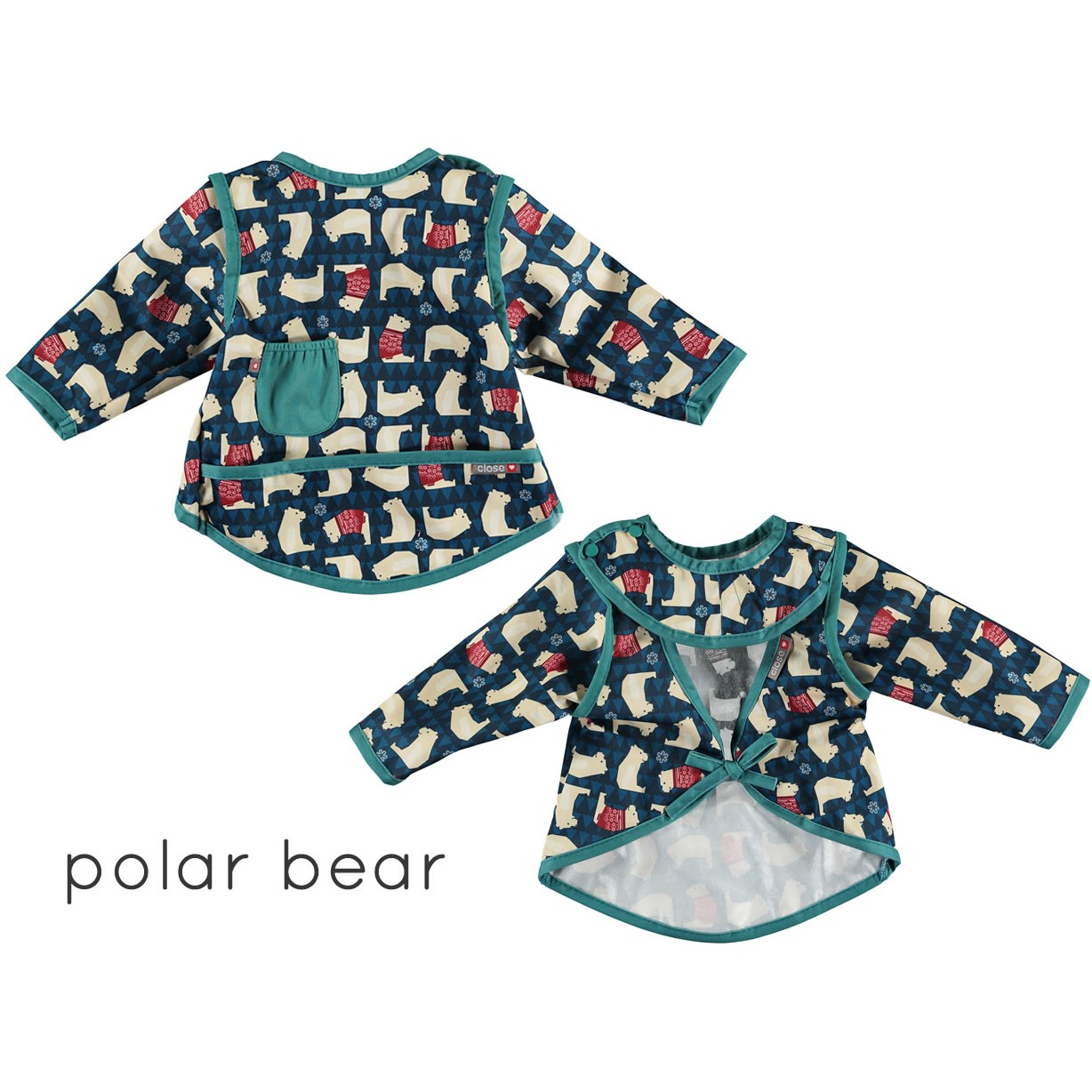Pop-in Winter Woodland Stage 4 Coverall Bibs 71a8b9ed8