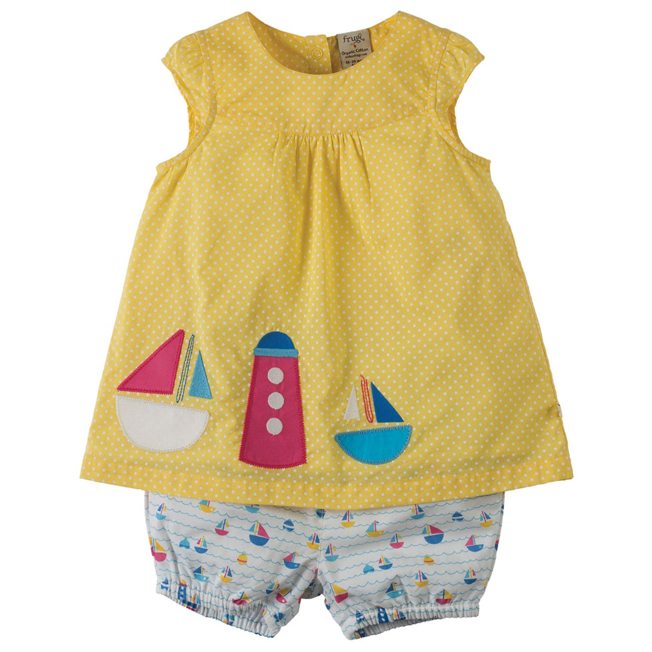 Frugi Boat Orla Outfit