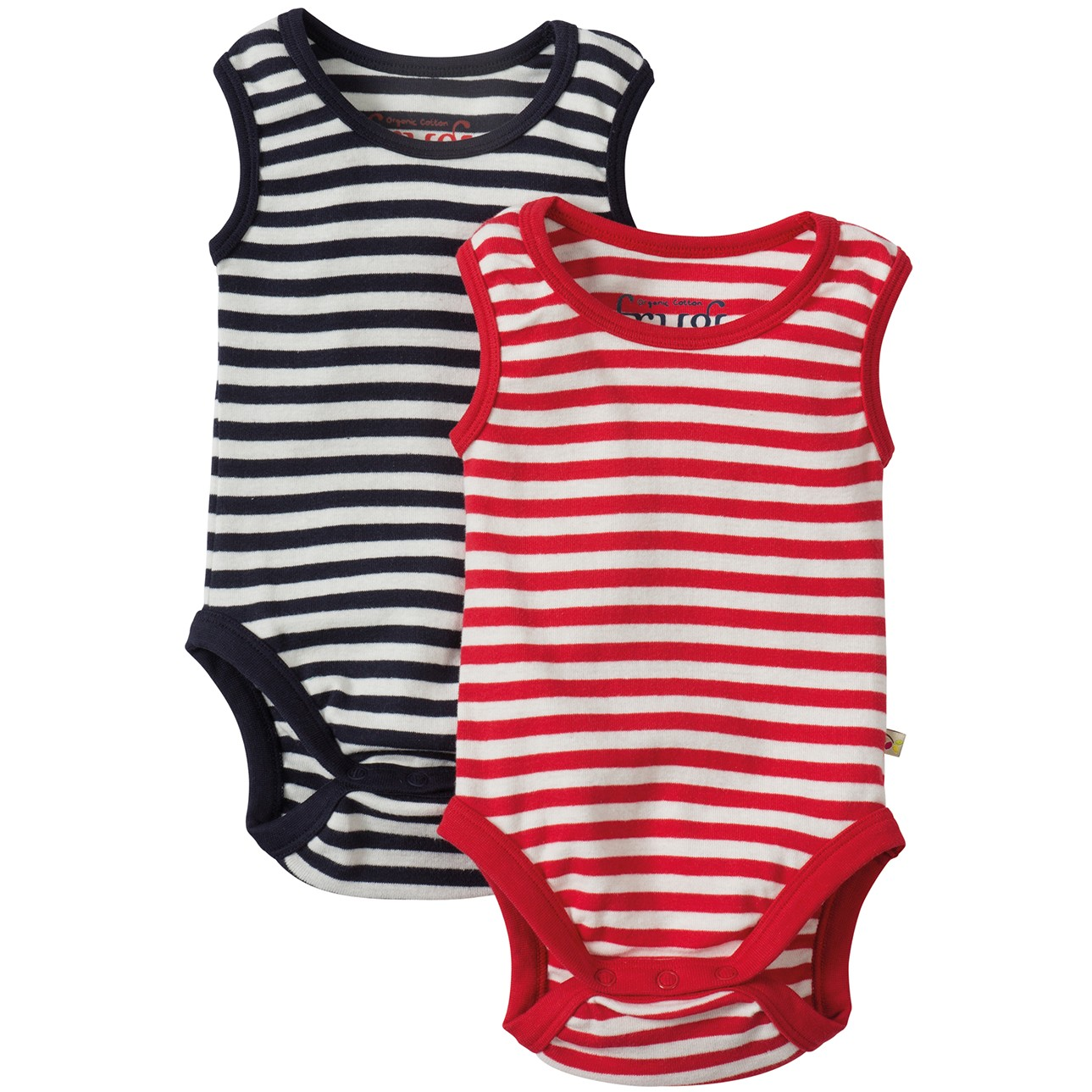 Frugi Sailor Striped Body Vests