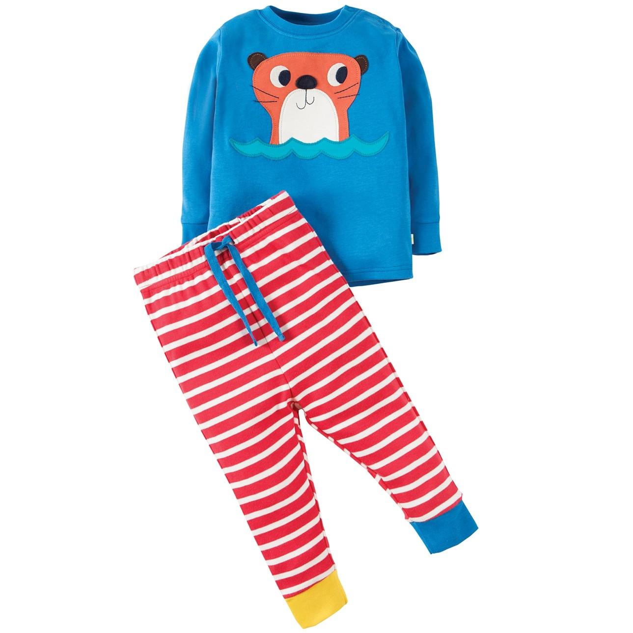 d7ea9e52a6 Frugi Otter Little Long John PJs
