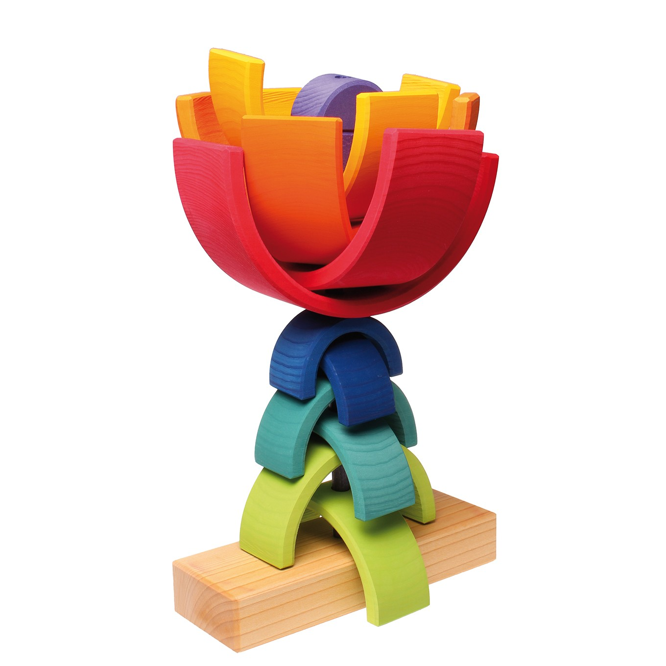 Grimm S Rainbow Stacking Tower