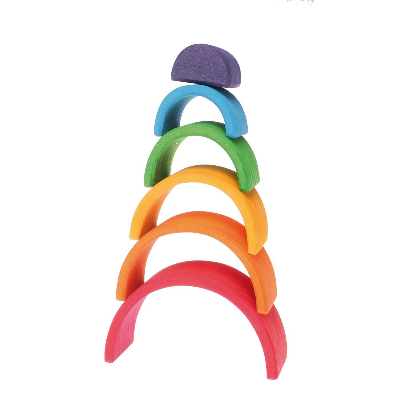 Grimm S Mini Rainbow 6 Pieces