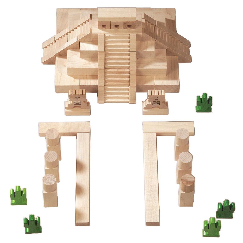 haba mayan architectural blocks. Black Bedroom Furniture Sets. Home Design Ideas