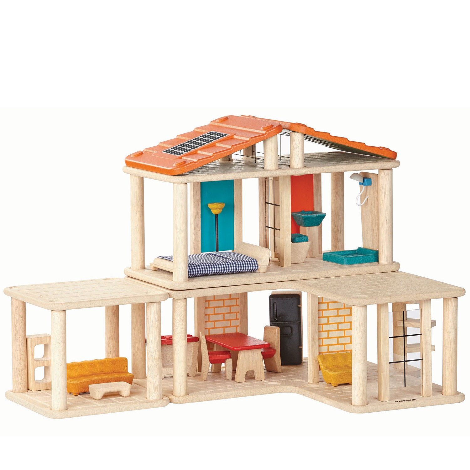 Plan toys creative play house for Play plan