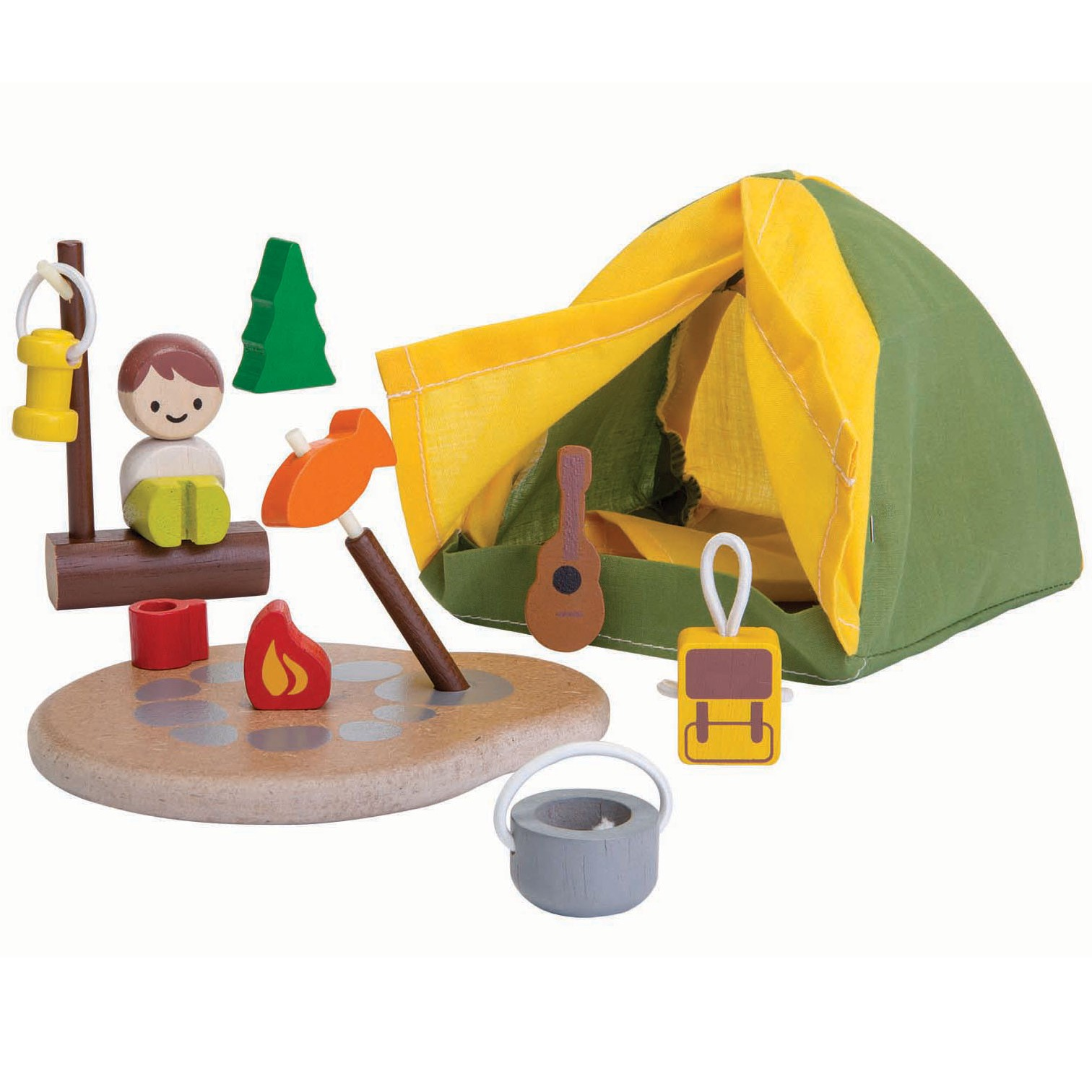 Toys For 5 And Up : Plan toys camping set planworld