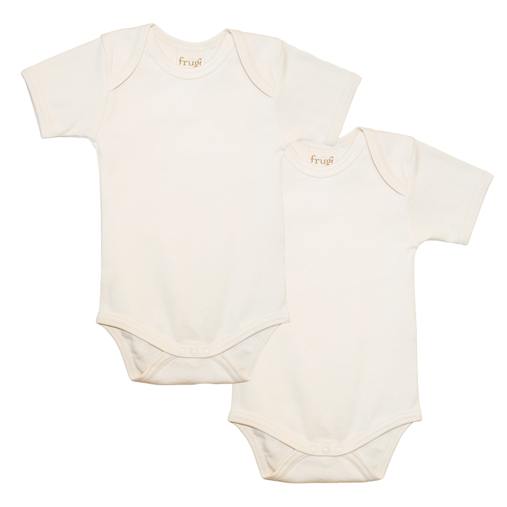 543df4021209 Frugi Organic Baby Bodies 2 Pack