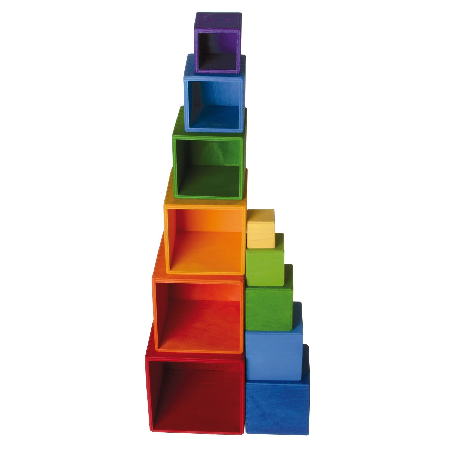 Coloured Boxes Set