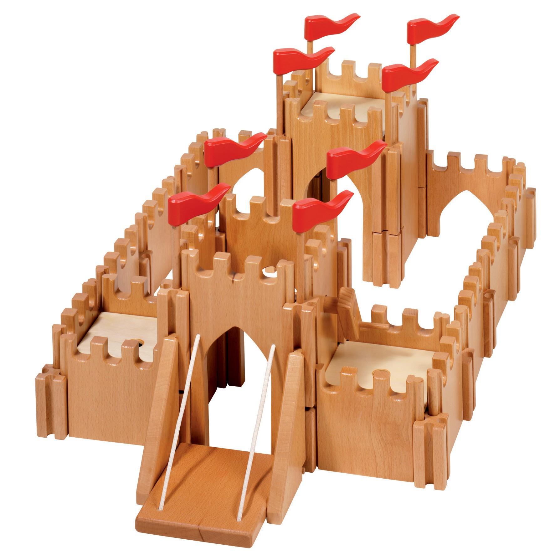 Wooden Toys Catalog : Holztiger knights castle