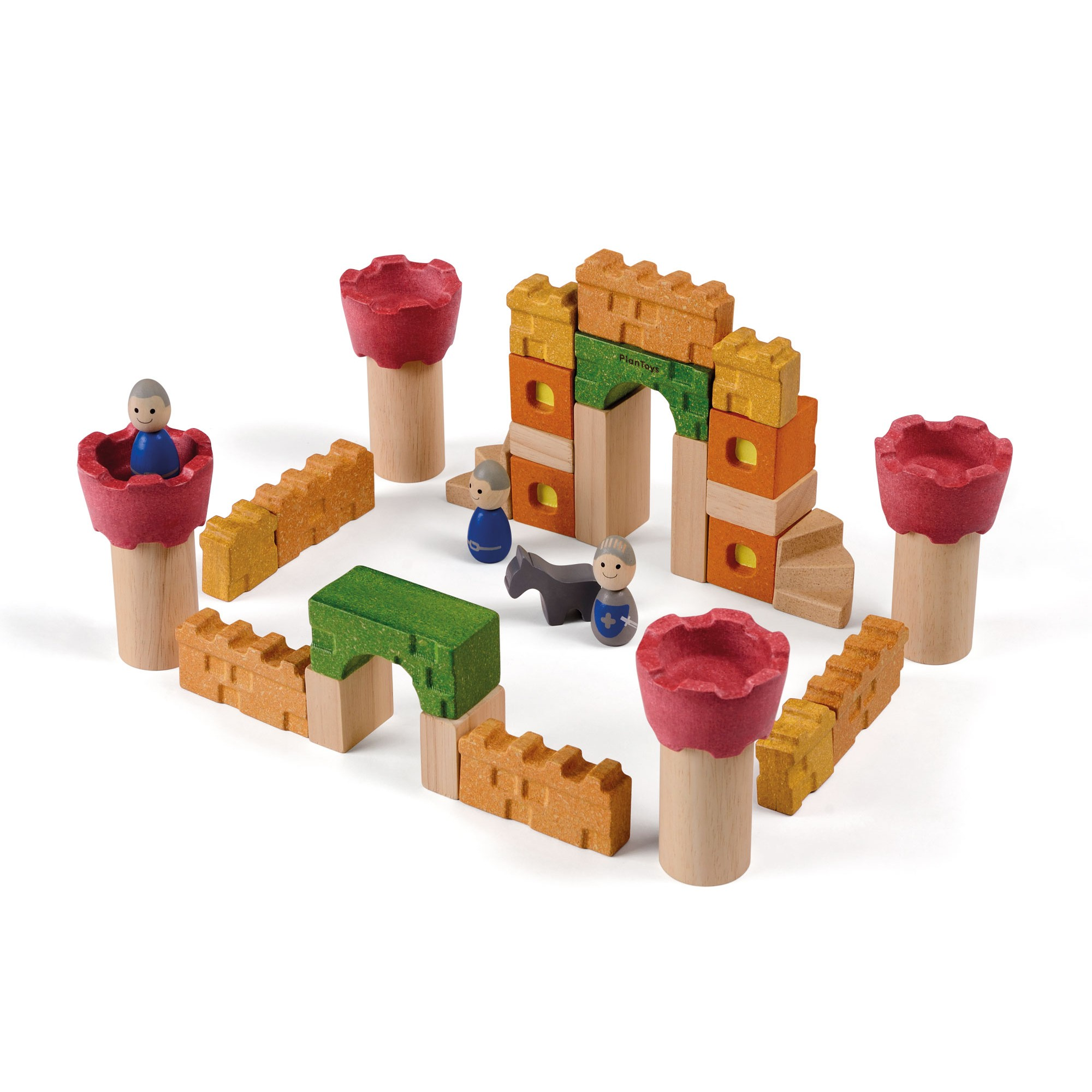 Wooden Toy Plans Catalog : Plan toys castle blocks