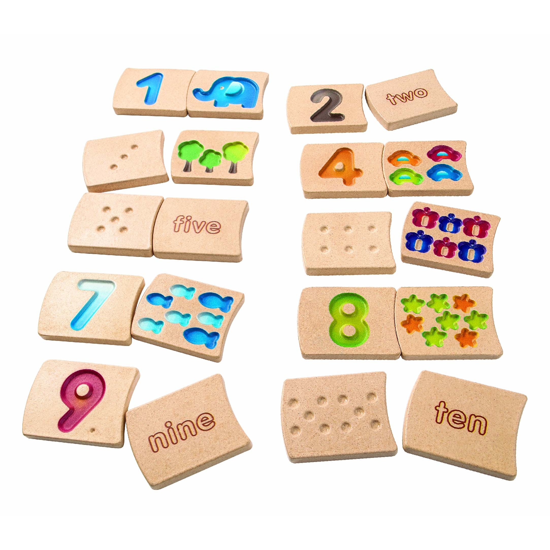 plan toys numbers 1 10