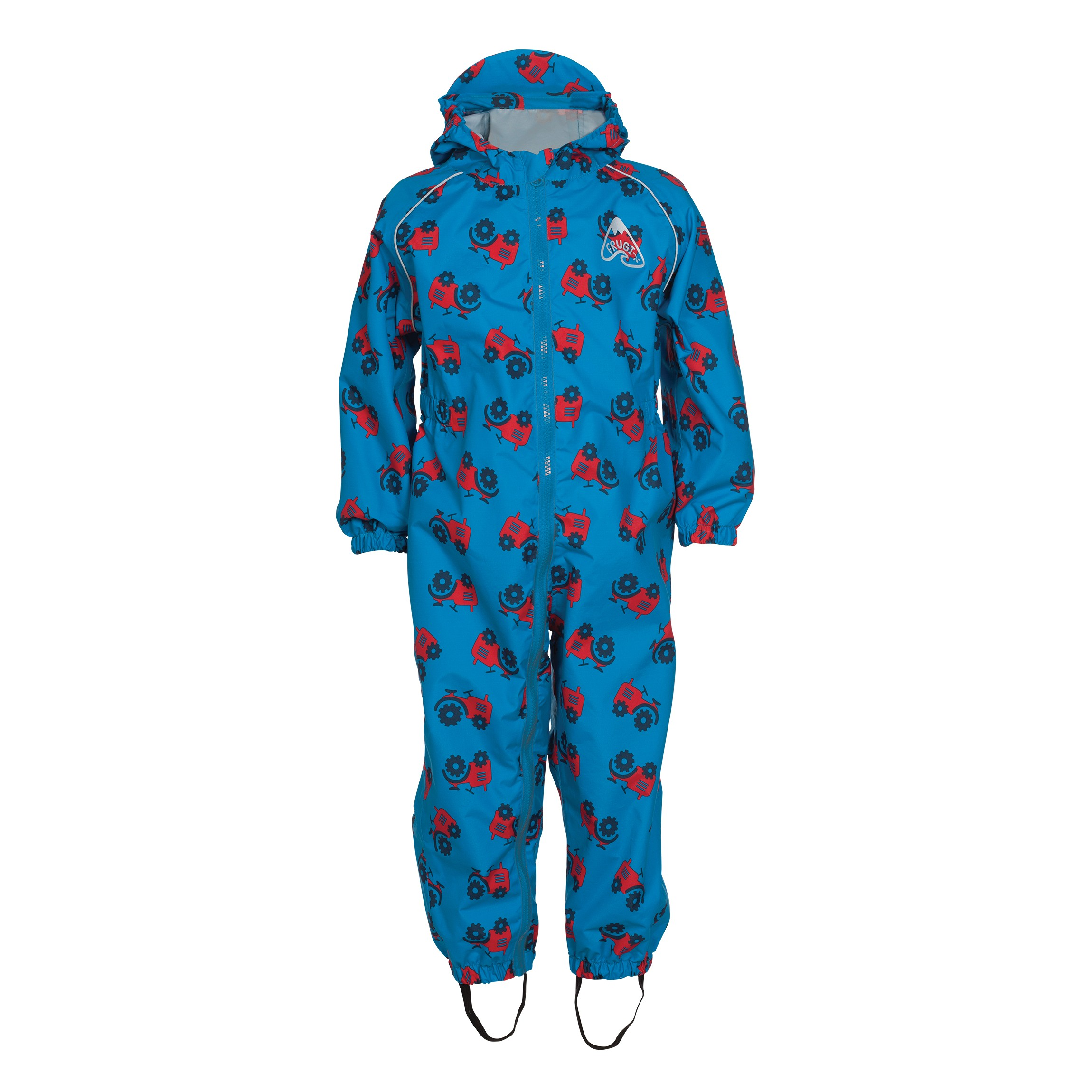 Frugi Puddle Buster Suit - Rainy Day Tractor