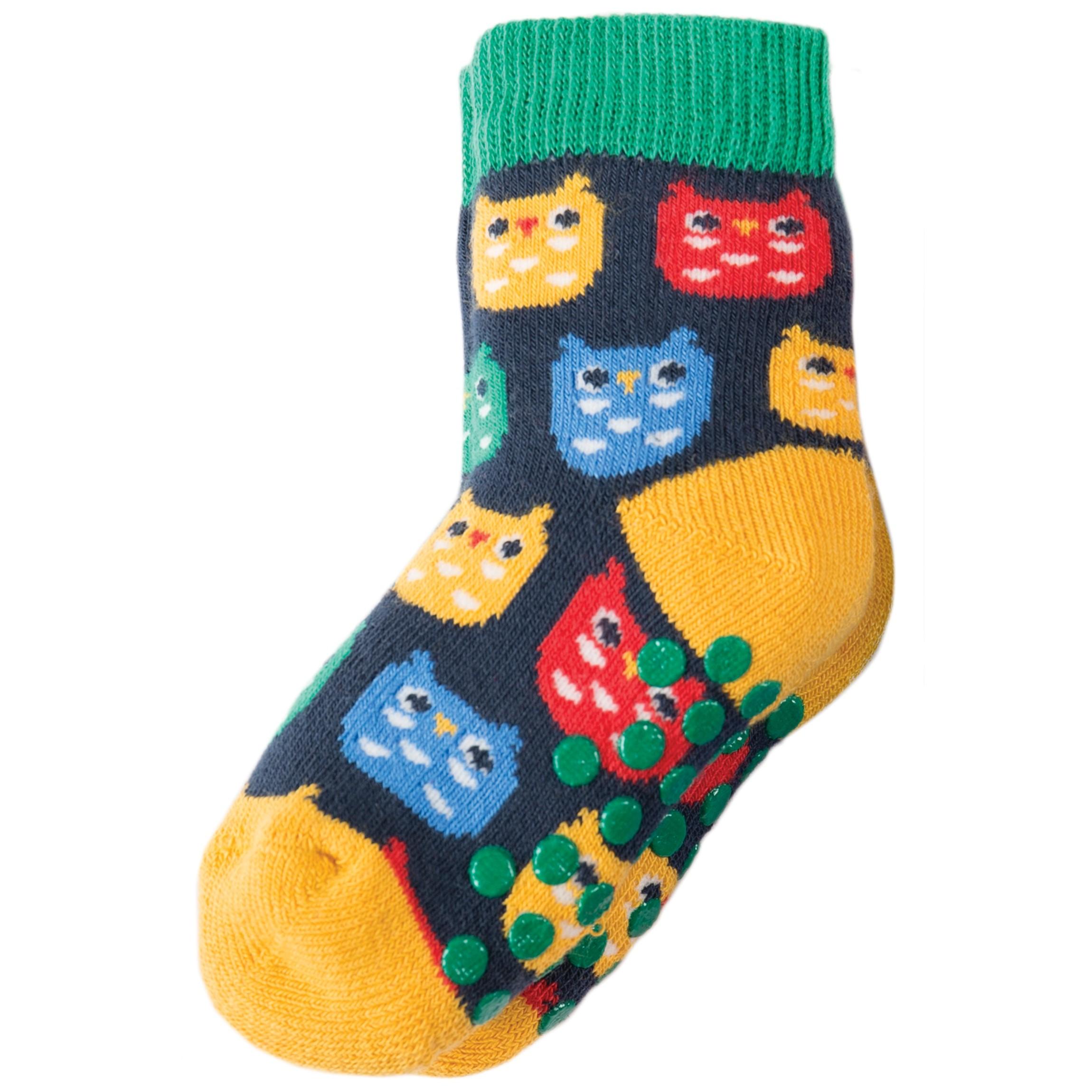 Owl Grippy Socks x2