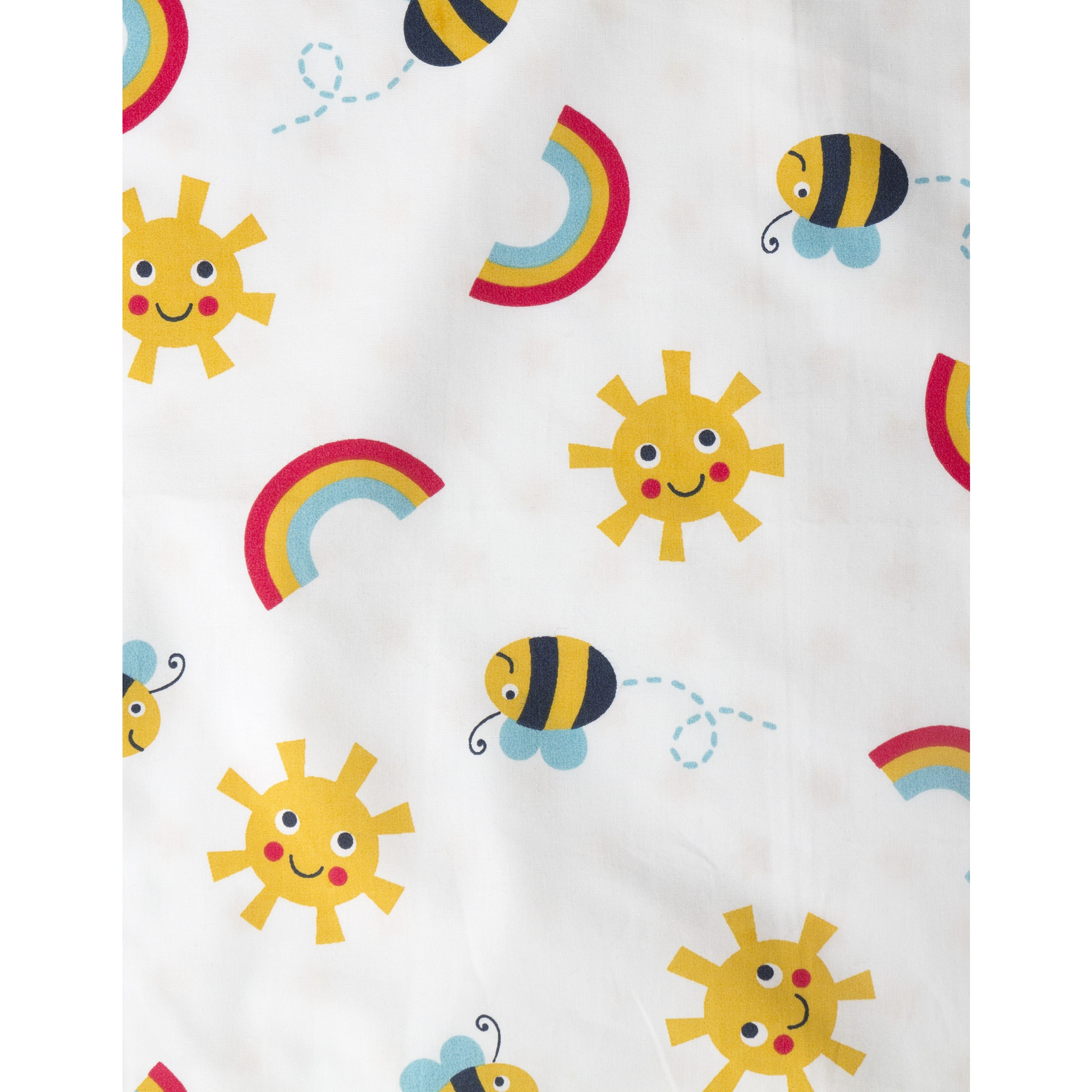 Frugi Sunny Buzzy Bee Cot Bed Set