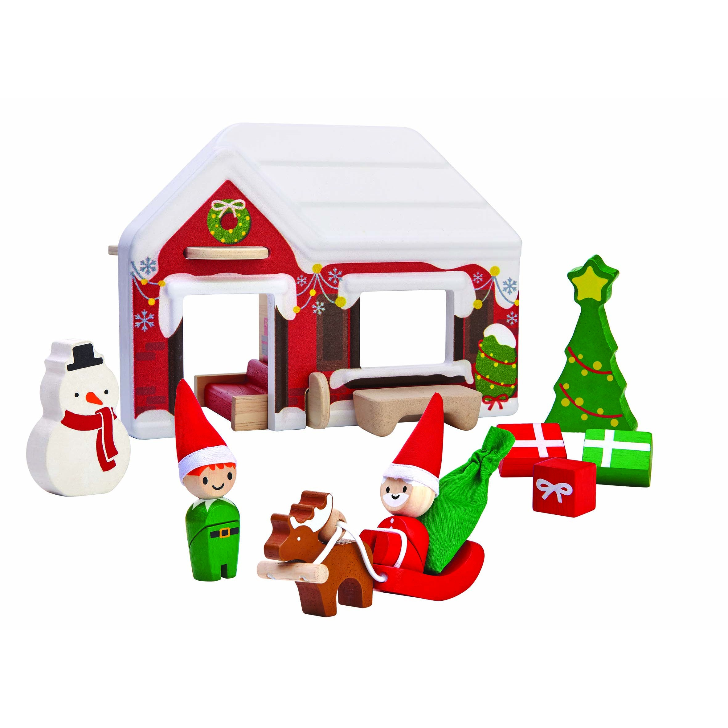 Toys From Santa : Plan toys santa s house