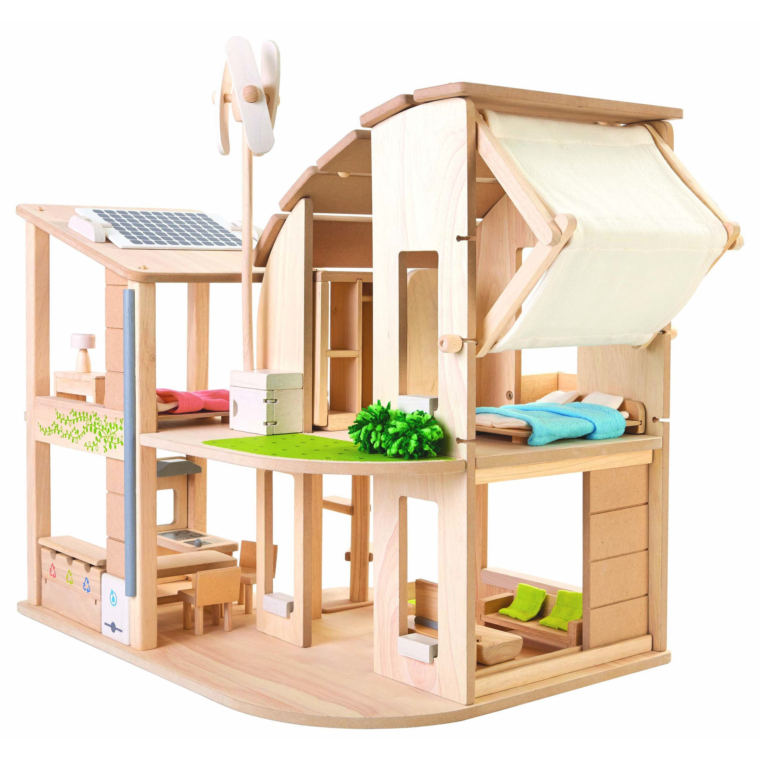 Plan Toys Green Dolls House Furniture