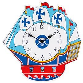 Pirate Clock by lanka kade Kids childrens fair trade clocks
