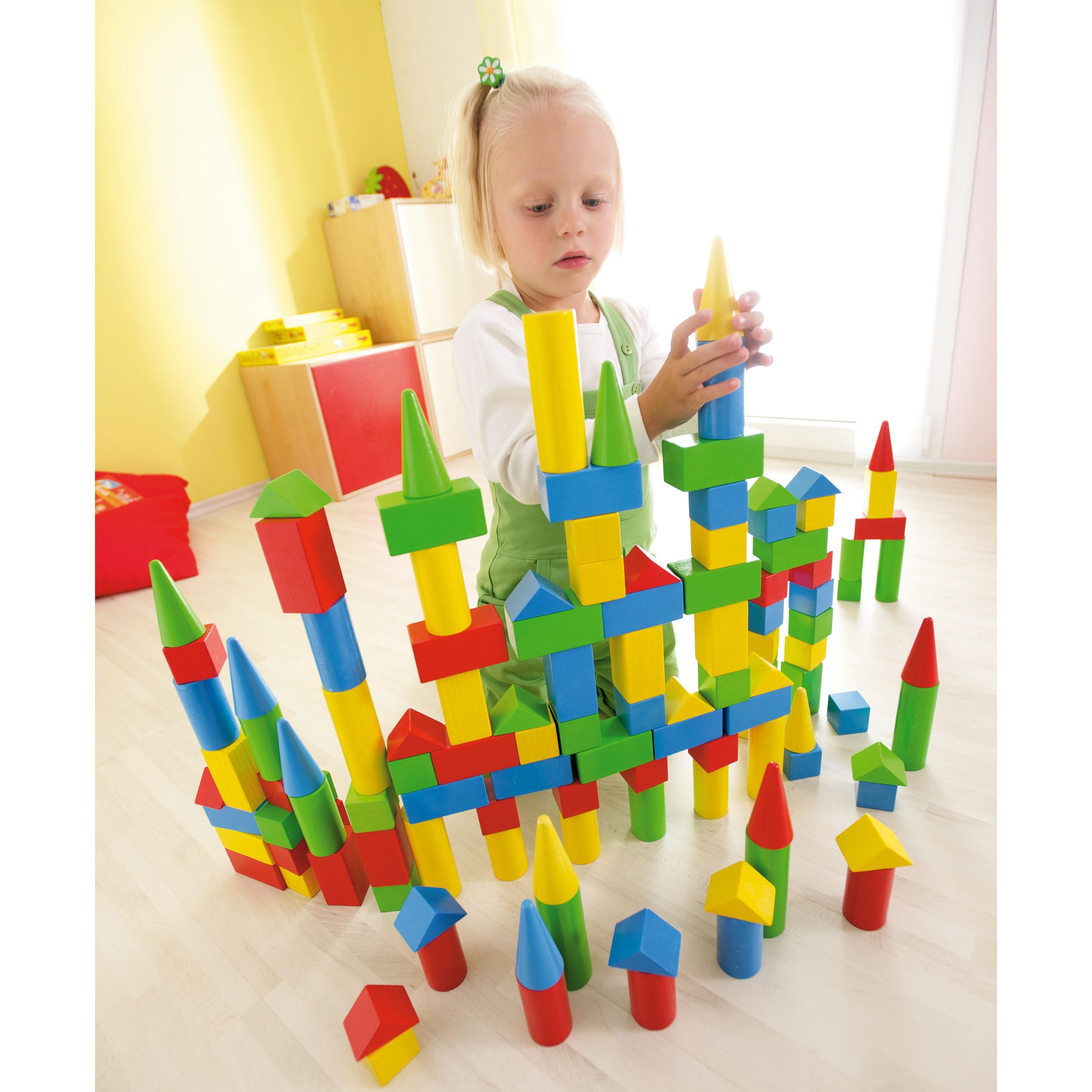 Colourful Rectangle Building Blocks