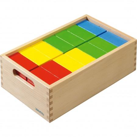 Haba Colourful Rectangle Building Blocks
