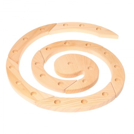 Grimm's Natural Wooden Spiral