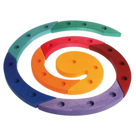 Grimm's Coloured Wooden Spiral