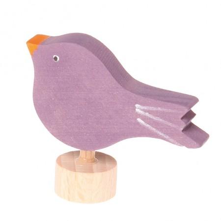 Grimm's Sitting Bird Decorative Figure