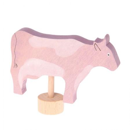 Grimm's Cow With Flecks Decorative Figure
