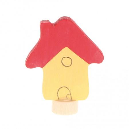 Grimm's Yellow House Decorative Figure