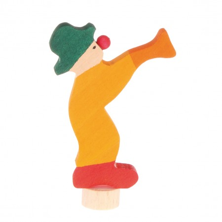 Grimm's Yellow Clown Decorative Figure