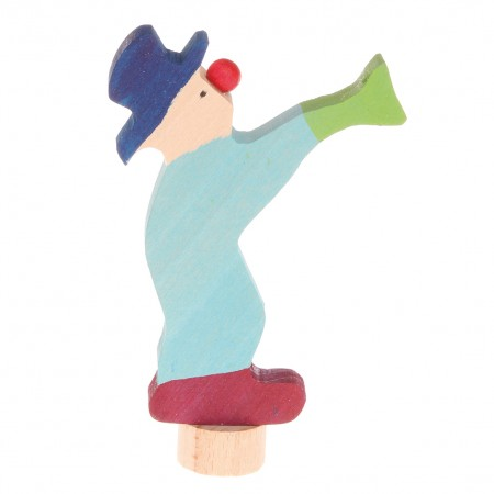 Grimm's Blue Clown Decorative Figure