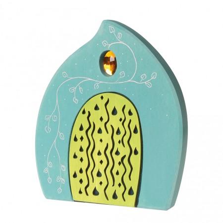 Grimm's Turquoise Fairy Door