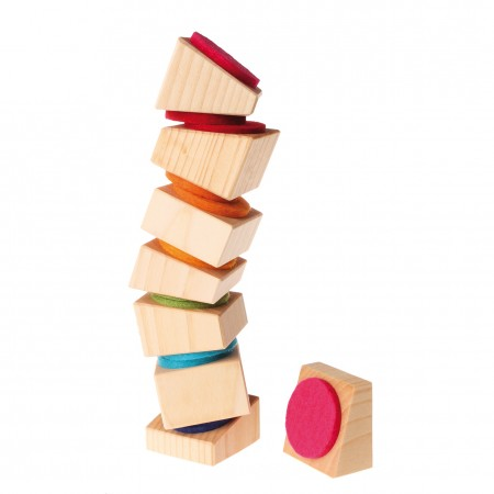 Grimm's Leaning Tower With Felt Pads