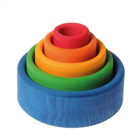 Grimm's Coloured Bowls (Outside Blue)