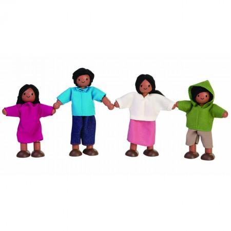Plan Toys Dolls House - Asian Family