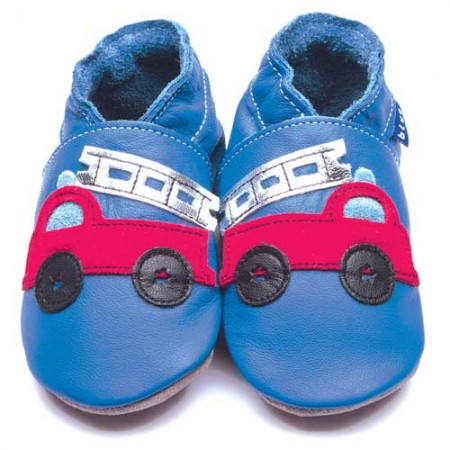 Inch Blue Fire Truck Shoes