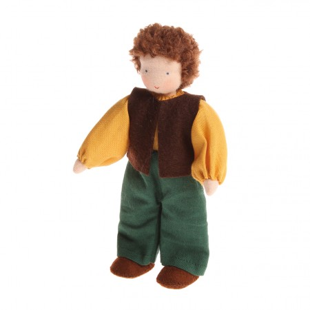Grimm's Brown Haired Man Doll