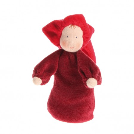 Grimm's Red Lavender Doll