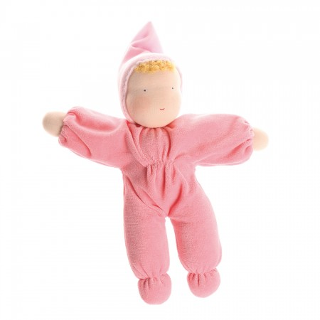 Grimm's Pink Soft Waldorf Doll