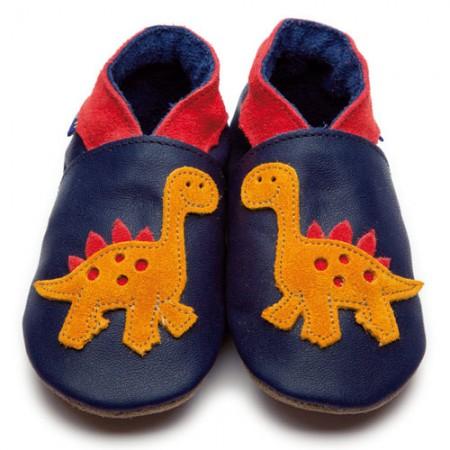 Inch Blue Orange Dino Navy Shoes