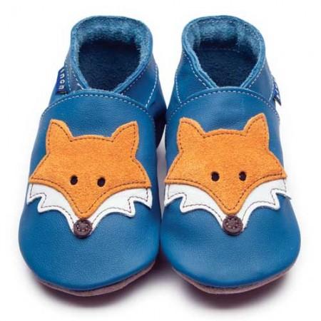 Inch Blue Mr Fox Blue Shoes
