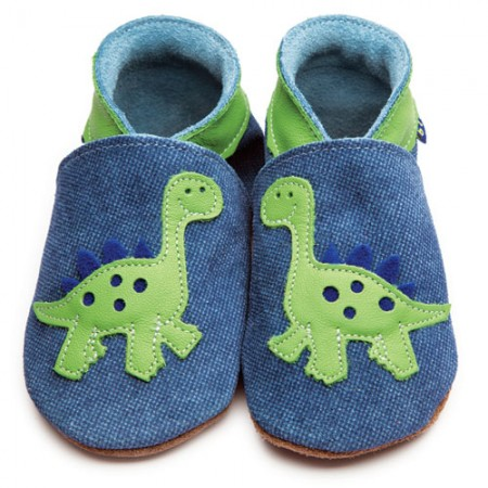 Inch Blue Green Dino Blue Shoes