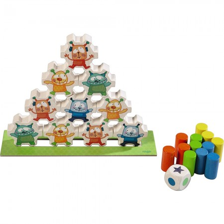 Haba Mini Monsters Stacking Game
