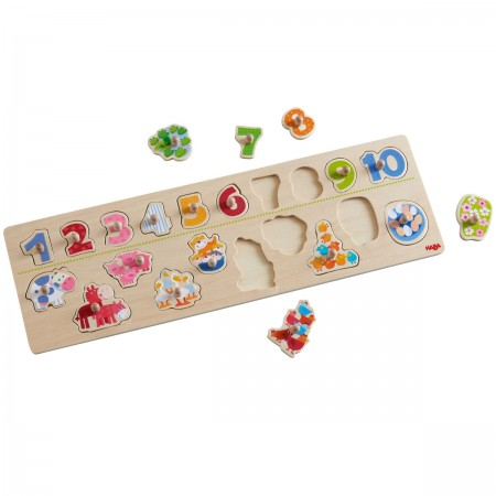 Haba Animals By Number Puzzle
